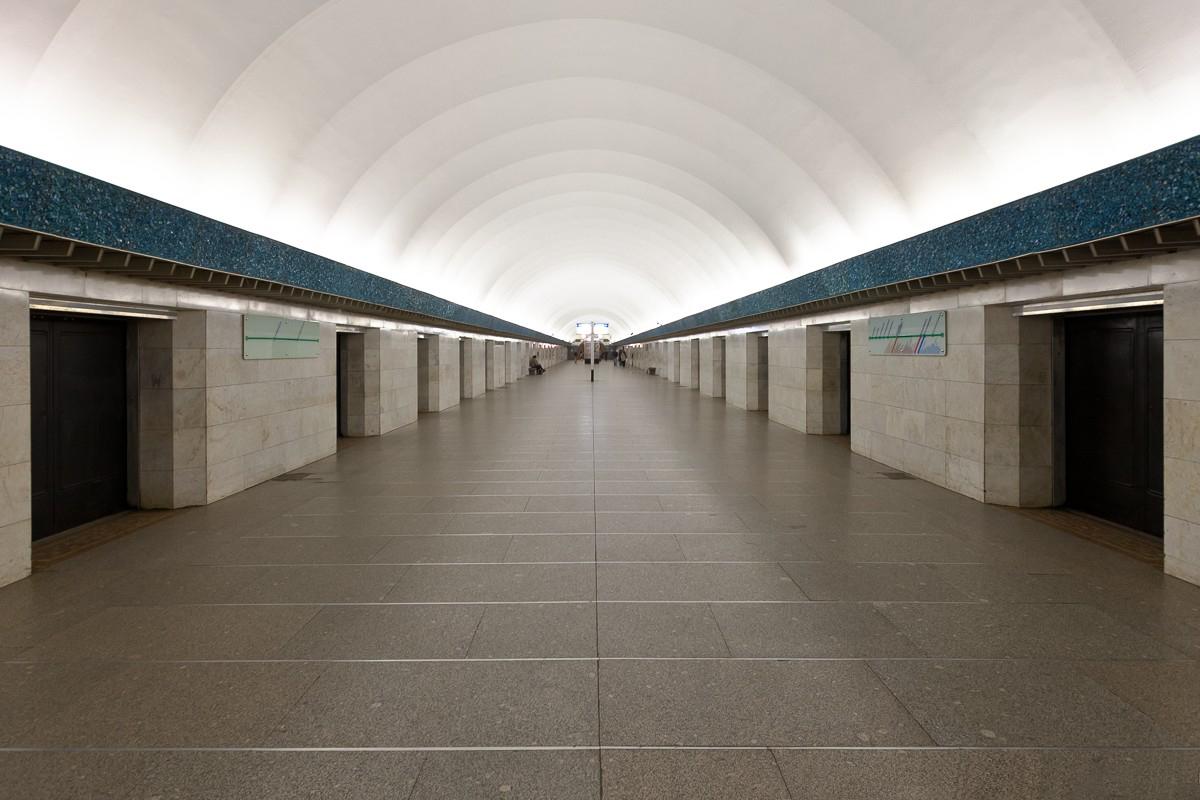 фото станции василеостровская