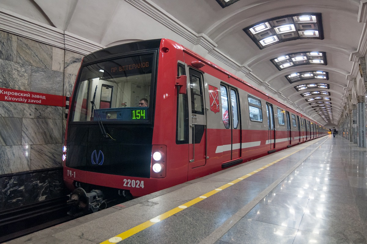 Вагон лаборатория для питерского метро