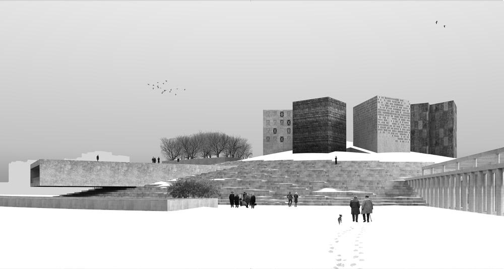 Теперь АО Центр выставочных и музейных проектов которое организовало отбор объявит конкурс на проектирование музея