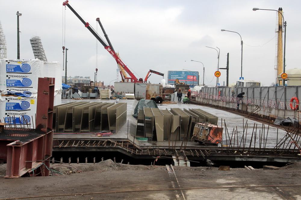 Прощай, пробки: Тучков мост откроют вконце ноября