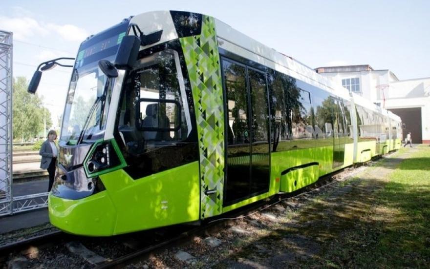Кначалу зимы вПетербурге заработает личный трамвай