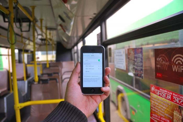 ВПетербурге автобусы начинают подключать кинтернету