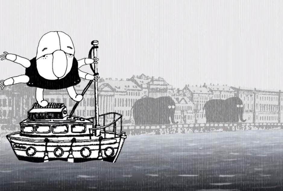 Иван Максимов создал мультфильм о сказочном Петербурге иего талантливых музыкантах
