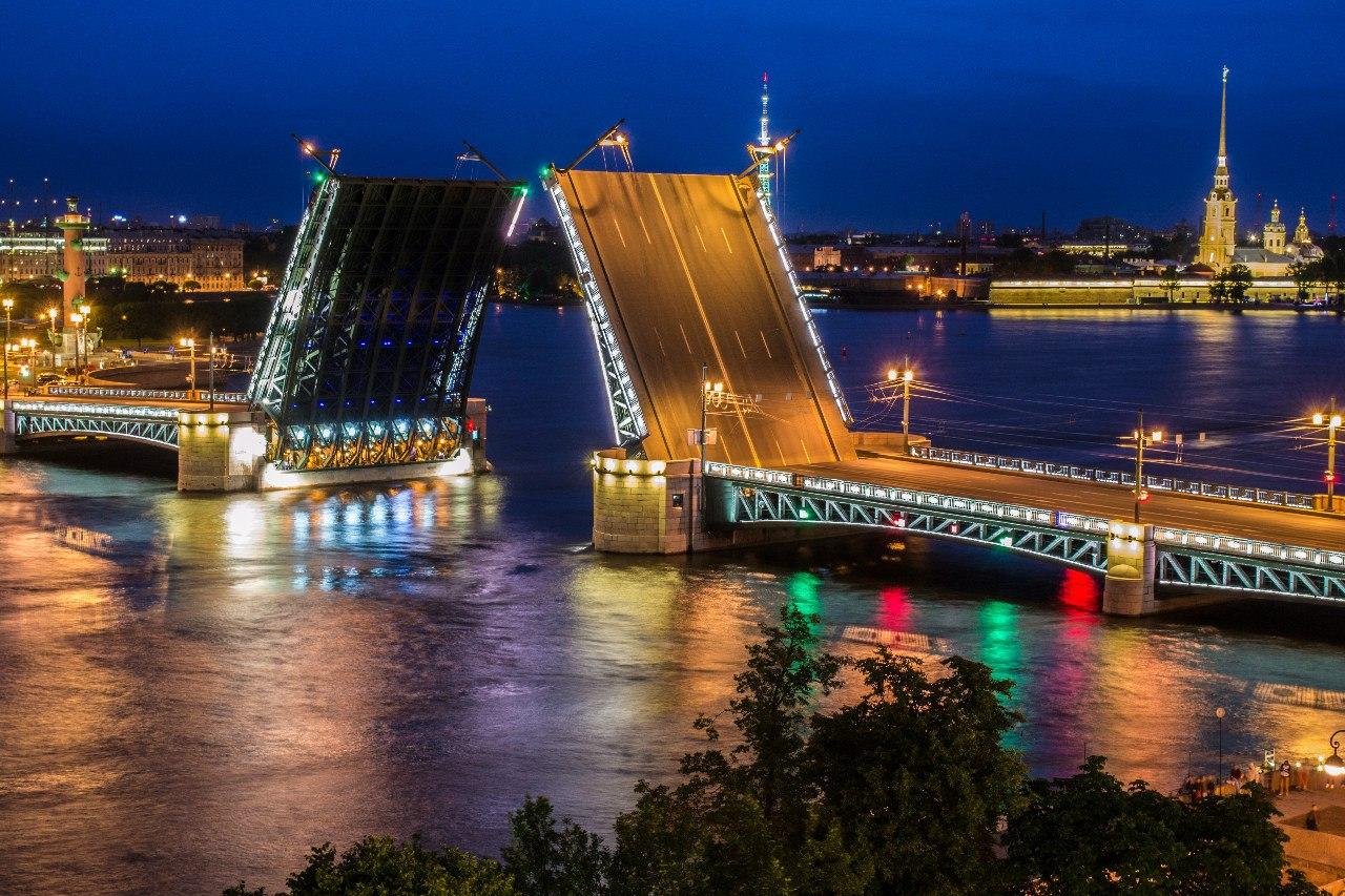 Картинка мосты питера