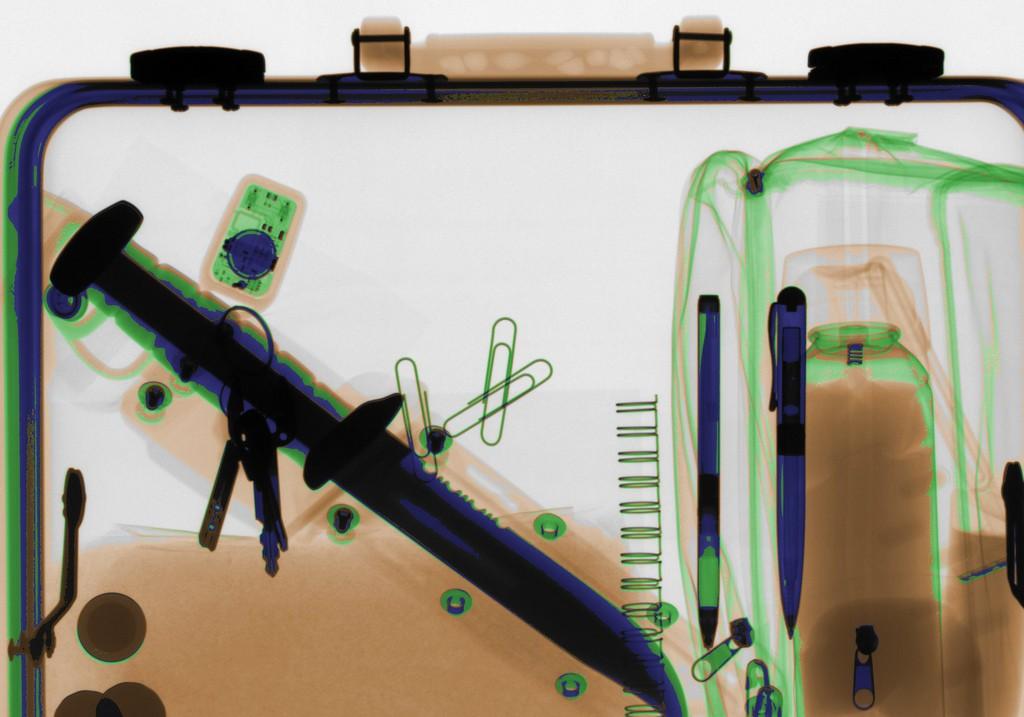 Фото предметов через интроскоп